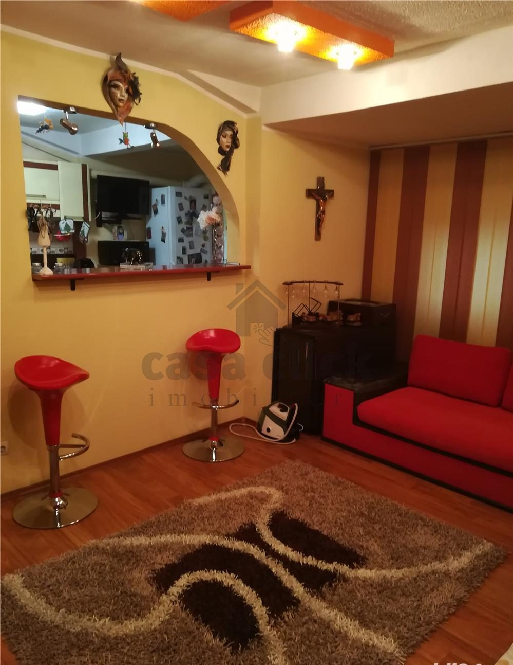 Apartament 2 camere decomandate la mansarda