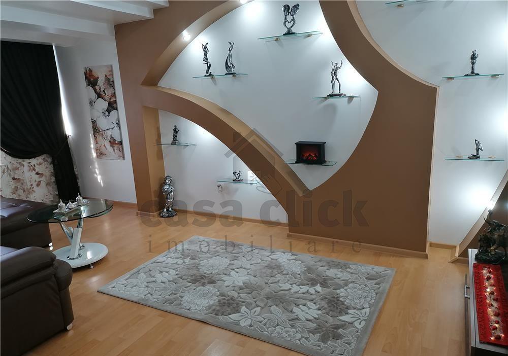 Apartament 3 camere mobilat lux zona Micro 20