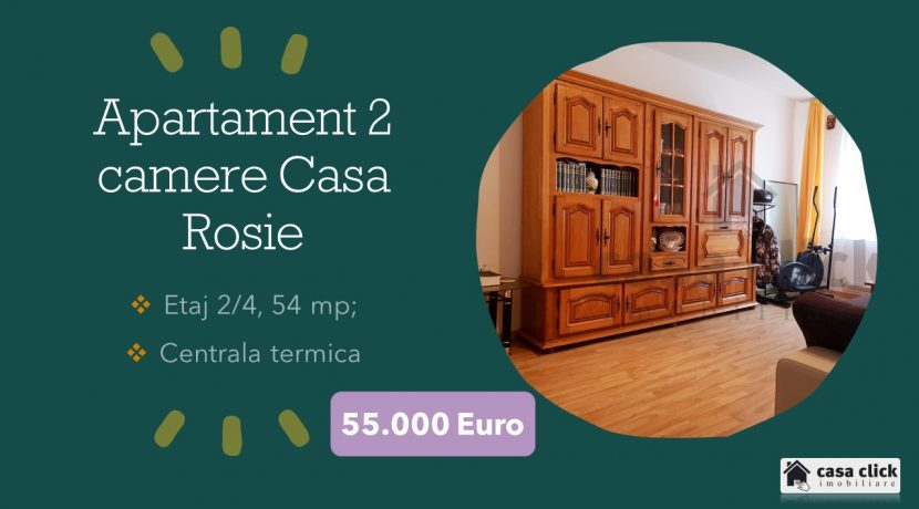 Apartament 2 camere Casa Rosie