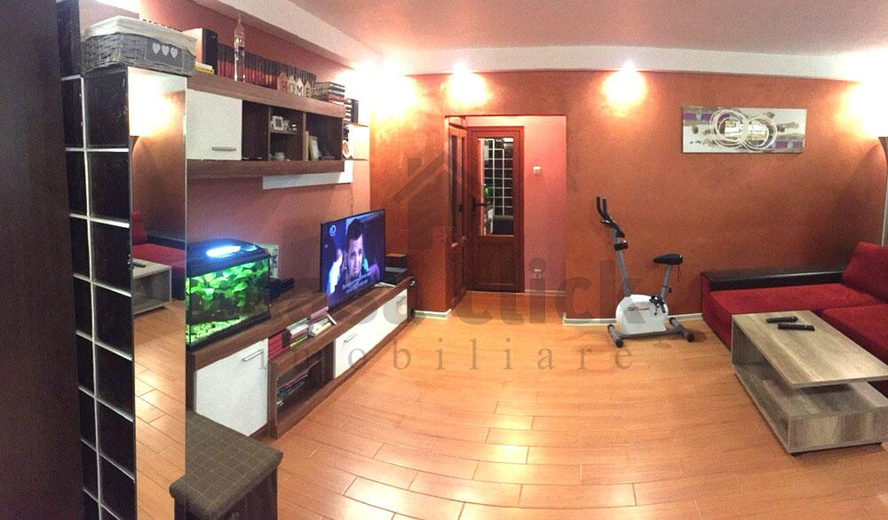 Apartament 3 camere, mobilat si utilat, Micro 17