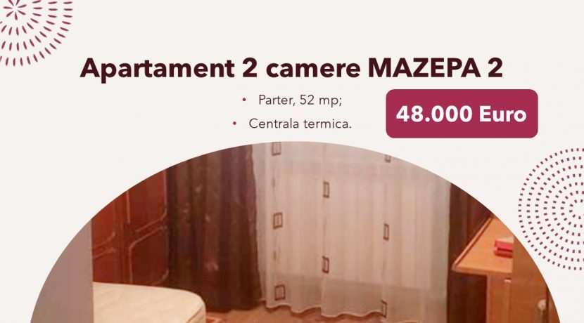 Apartament 2 camere MAZEPA 2