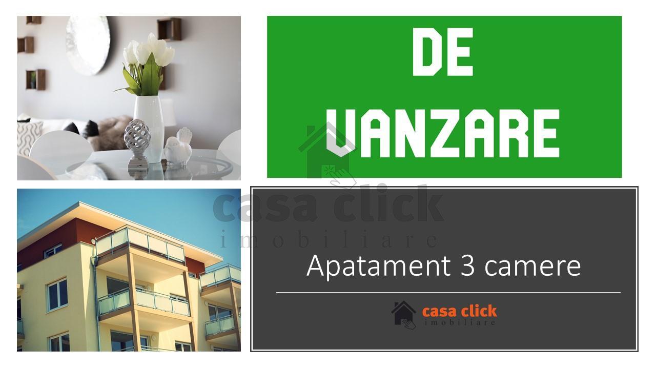 Apartament 3 camere, renovat, mobilat si utilat