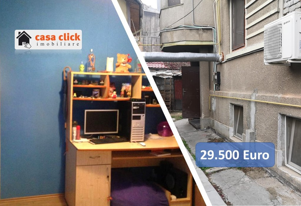 Apartament 2 camere intr-un imobil cu 2 nivele, zona centrala