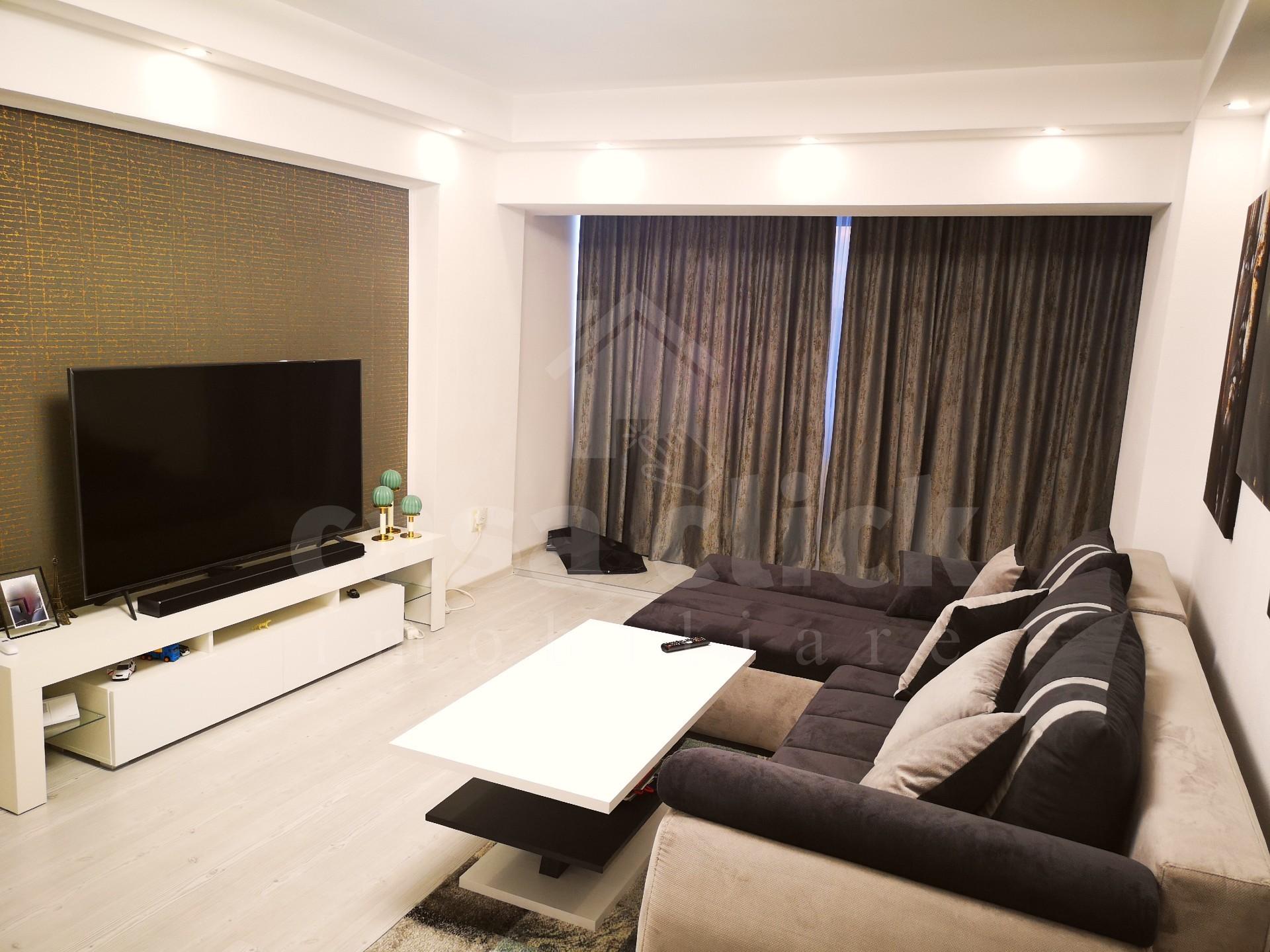 Apartament modern 2 camere, Micro 18, recent renovat si mobilat